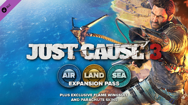 Just Cause 3™ DLC: Air, Land & Sea Expansion Pass