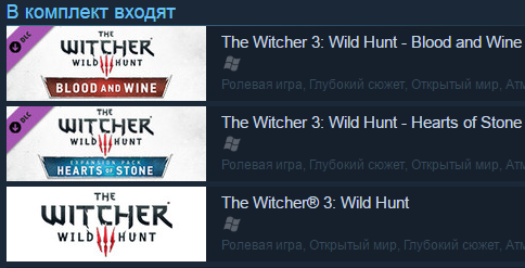 Witcher 3: Wild Hunt - Game of the Year Edition  RU СНГ