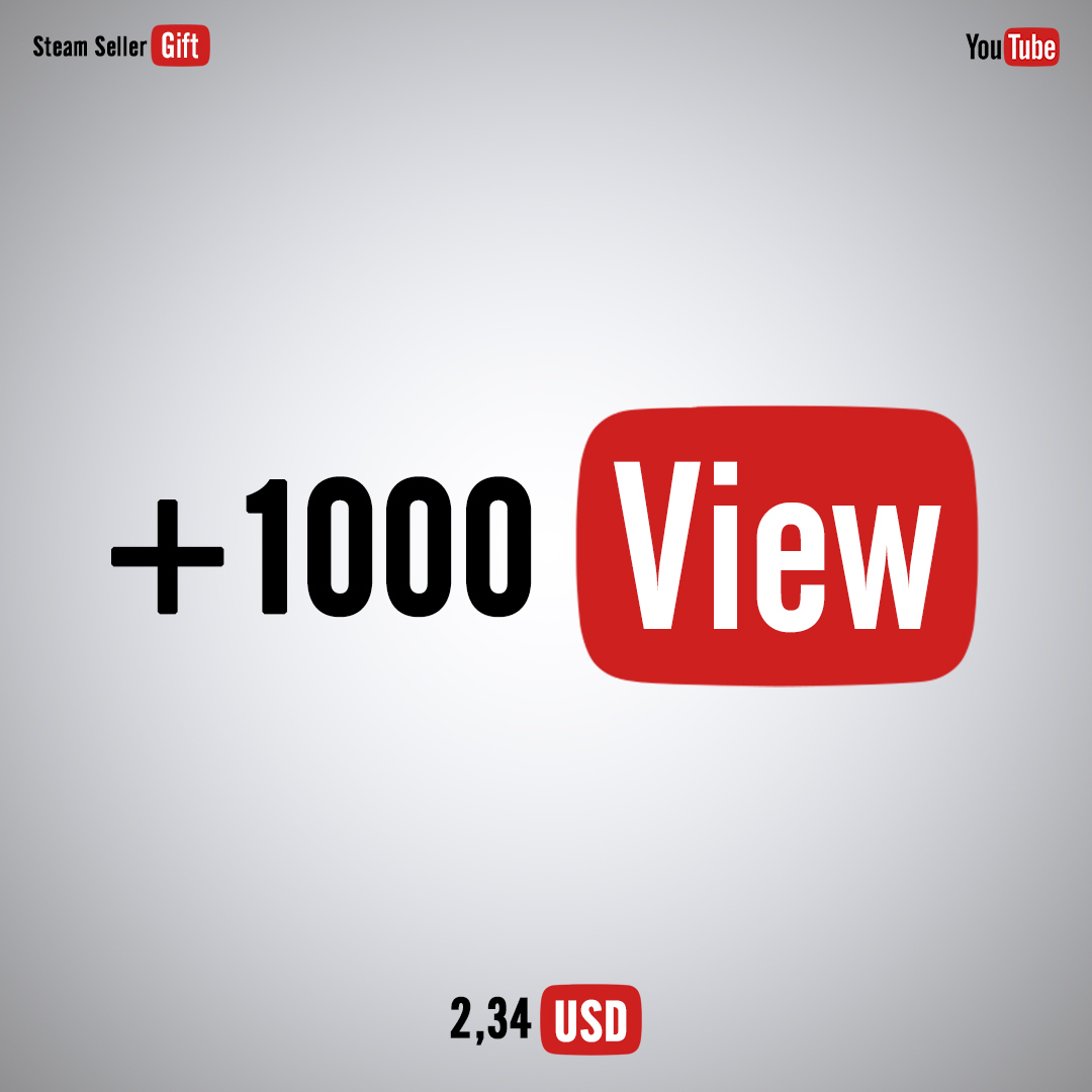 YouTube views / likes / reposts