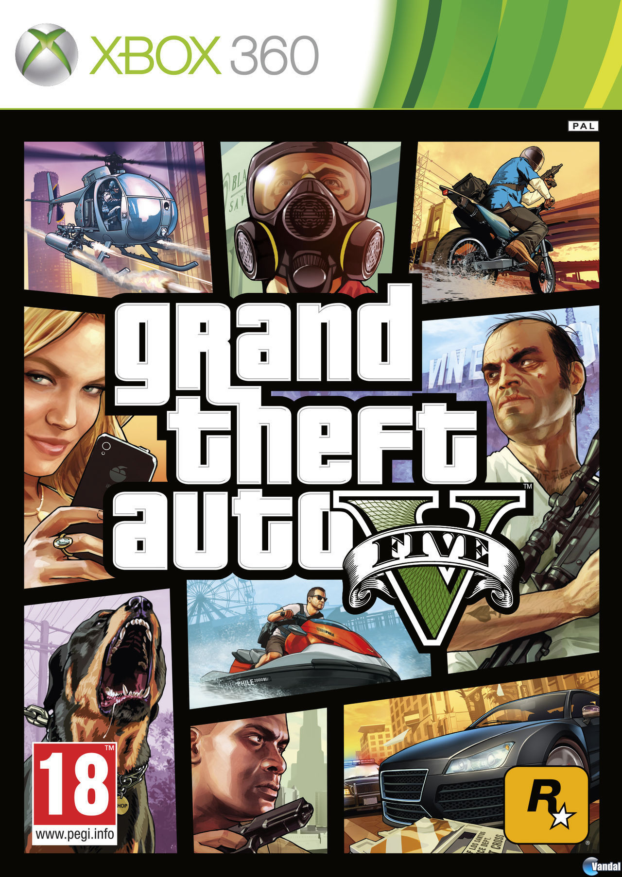 GTA 5 XBOX 360 (account) the price is only today