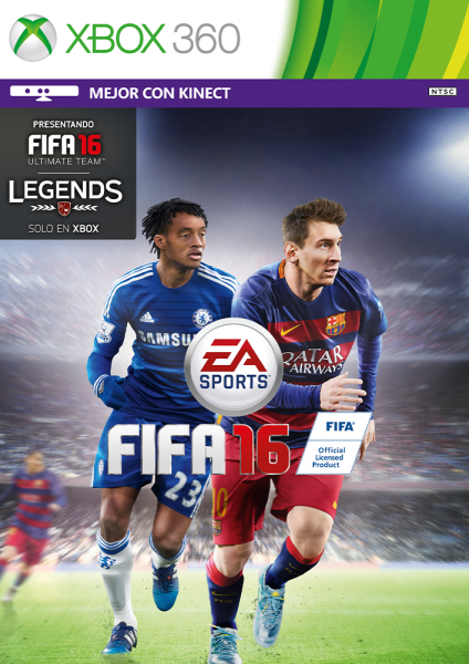 FIFA 16 XBOX 360 (account) the price is only today
