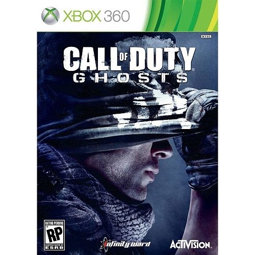 call of duty ghost + COD BO 2 + 6 games xbox 360