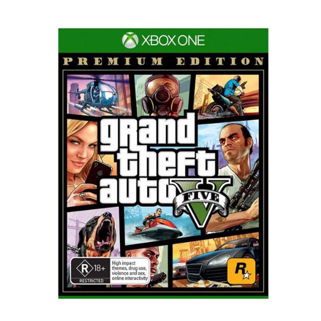 Grand Theft Auto V GTA 5 Premium Edition XBOX ONE  🔑🌍