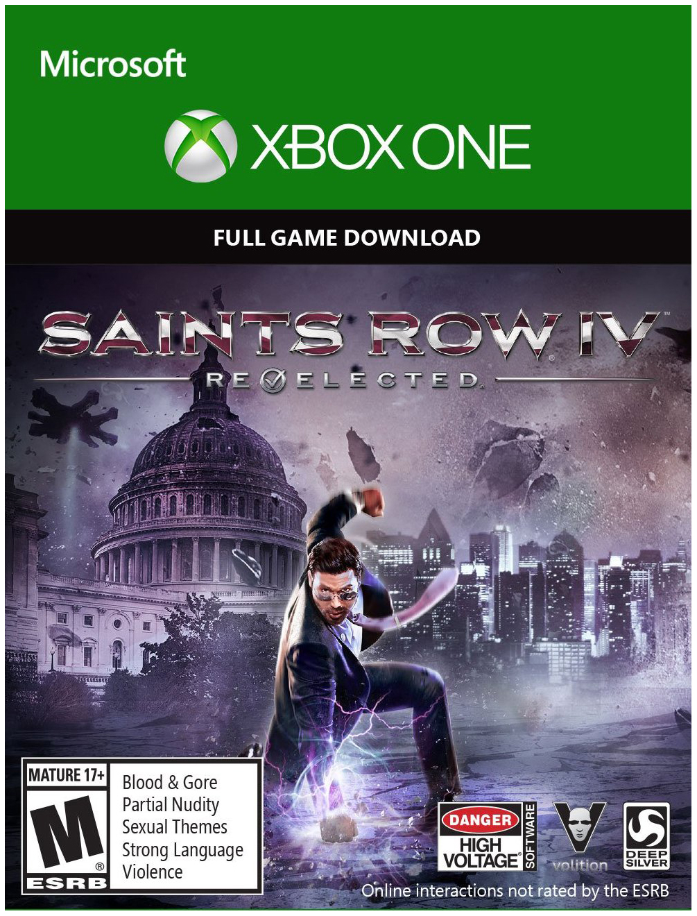 ✅Saints Row IV: Re-Elected XBOX ONE KEY🔑🌍