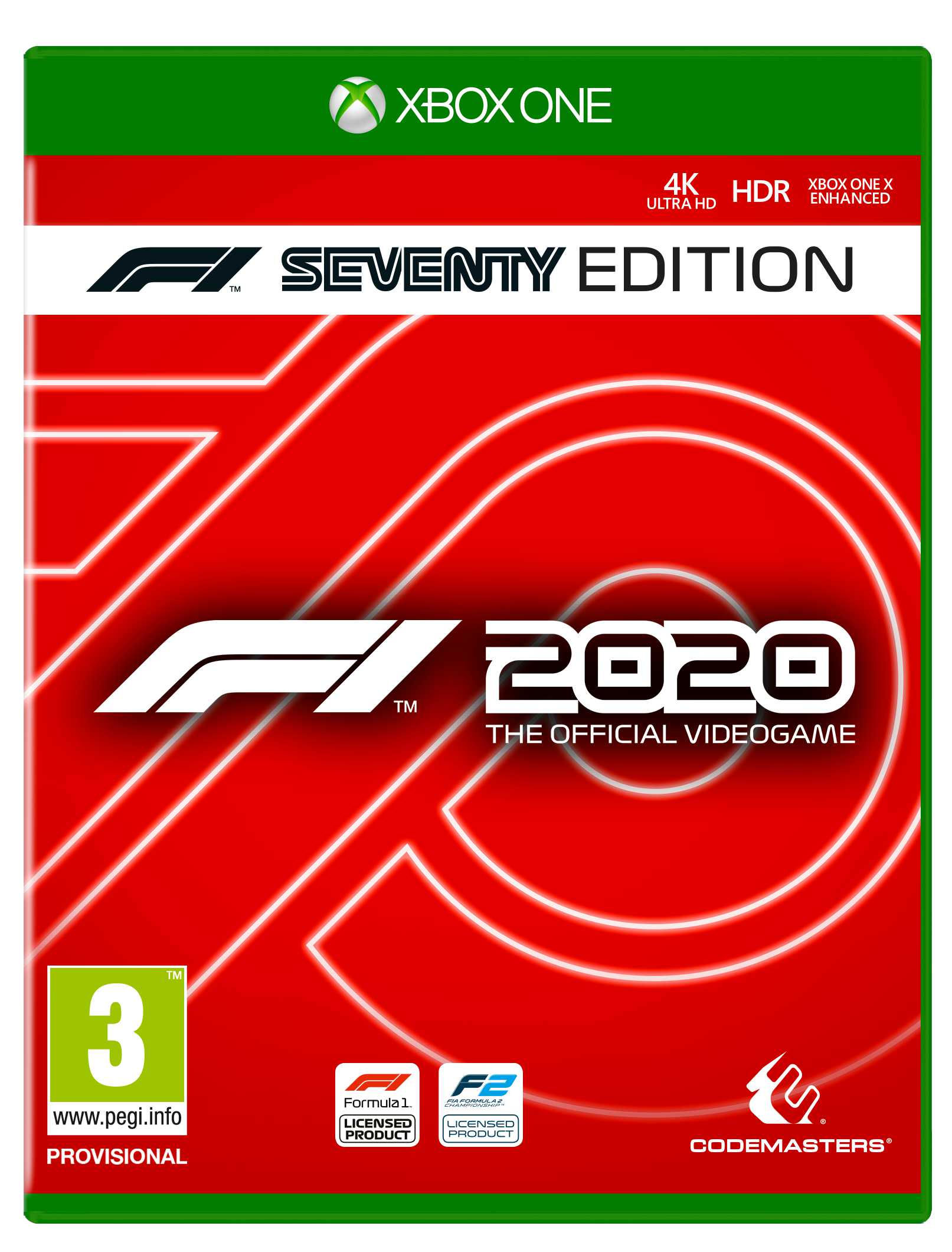 ✅ F1 2020 Seventy Edition XBOX ONE Ключ 🔑🌍