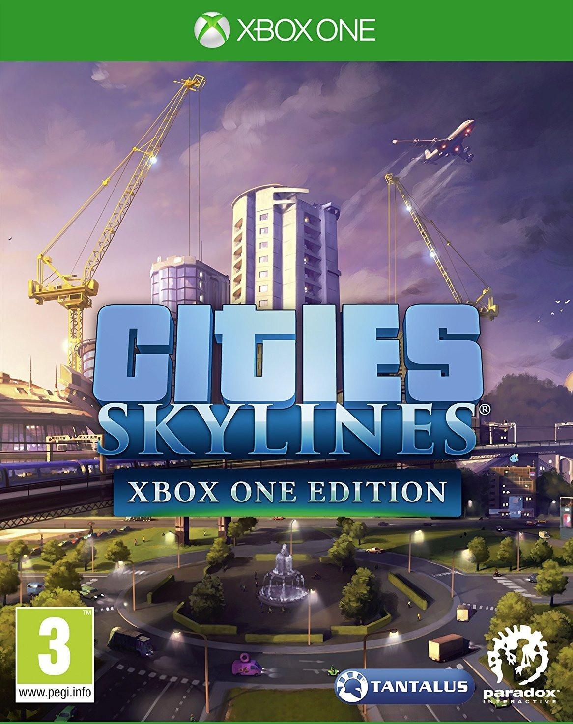 ✅ Cities: Skylines - Xbox One Edition XBOX ONE ключ 🔑
