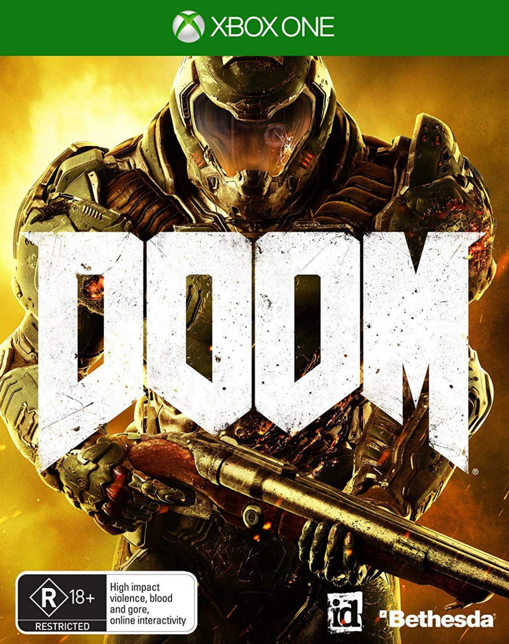 DOOM 2016 Xbox One Цифровой Ключ🌍🔑