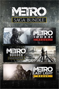 Metro Saga Bundle Xbox One X / S Digital Key🔑🌍