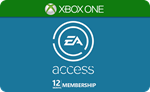 EA ACCESS/EA PLAY 12 МЕСЯЦЕВ / 1 ГОД Xbox One GLOBAL