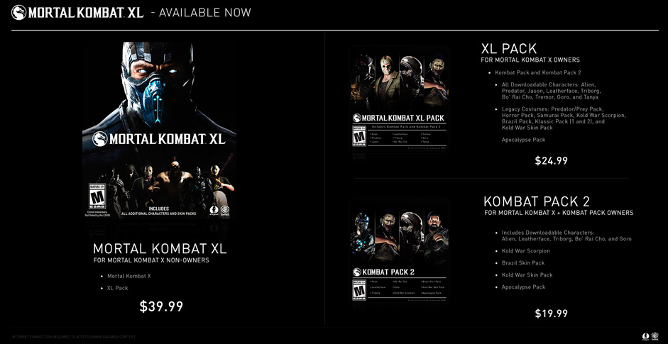 Mortal Kombat XL (Steam Key/RegionFree)