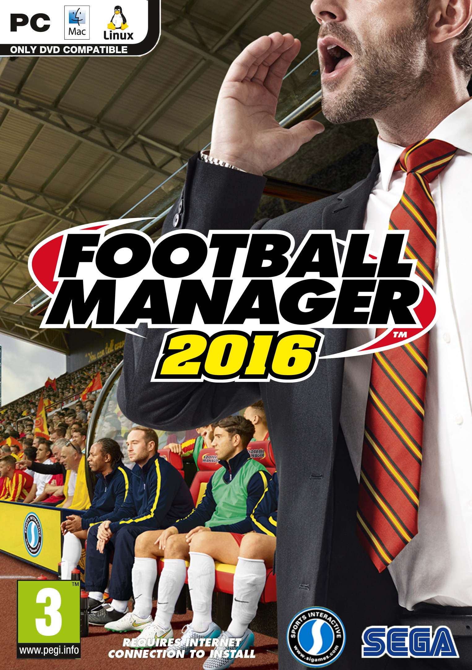 Football Manager 2016 Steam Account (Steam)