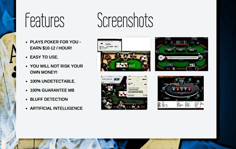 Do poker bots work