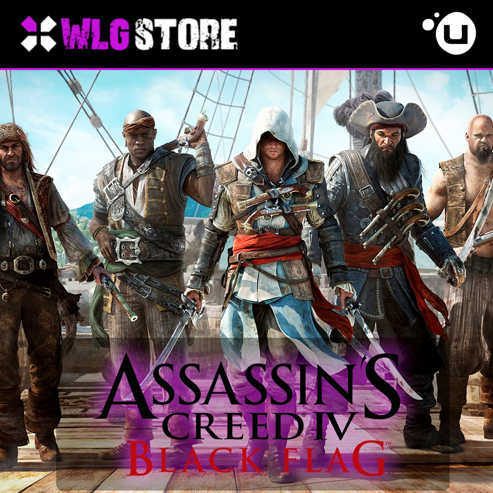 AC BLACK FLAG | REGION FREE | UPLAY