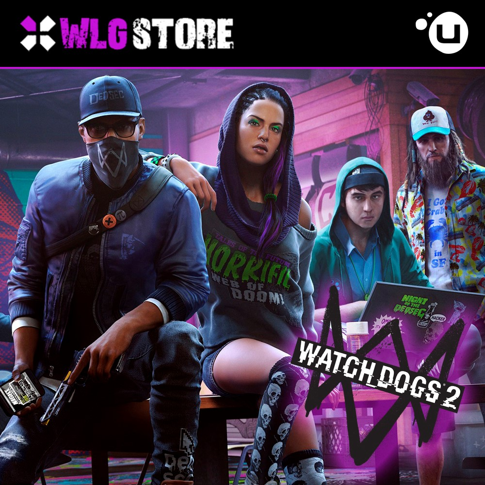 WATCH DOGS 2 | CASHBACK | REGION FREE | UPLAY 💎