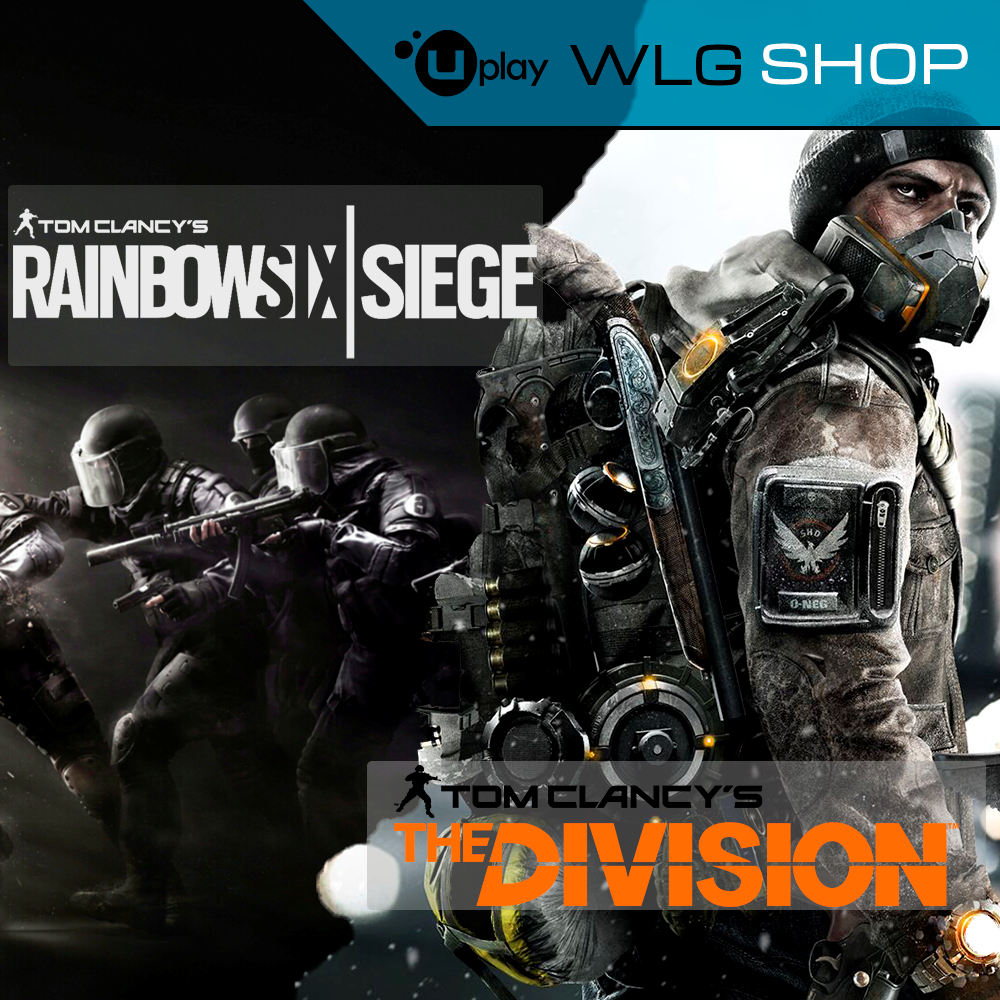 Tom Clancy´s Division+Rainbow Six Siege&#128142
