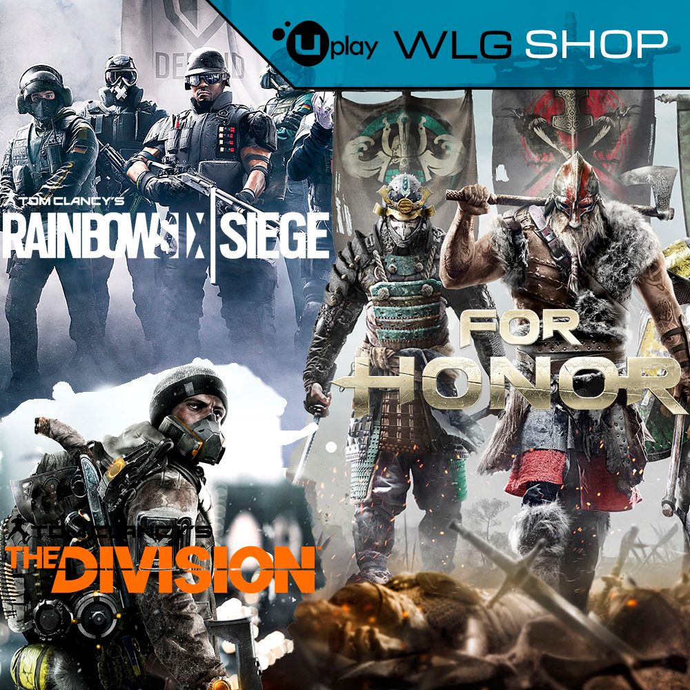 FOR HONOR+The Division+Rainbow Six Siege ГАРАНТИЯ