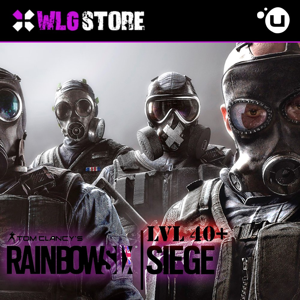 RAINBOW SIX SIEGE LVL 40+ REGION FREE | UPLAY 💎