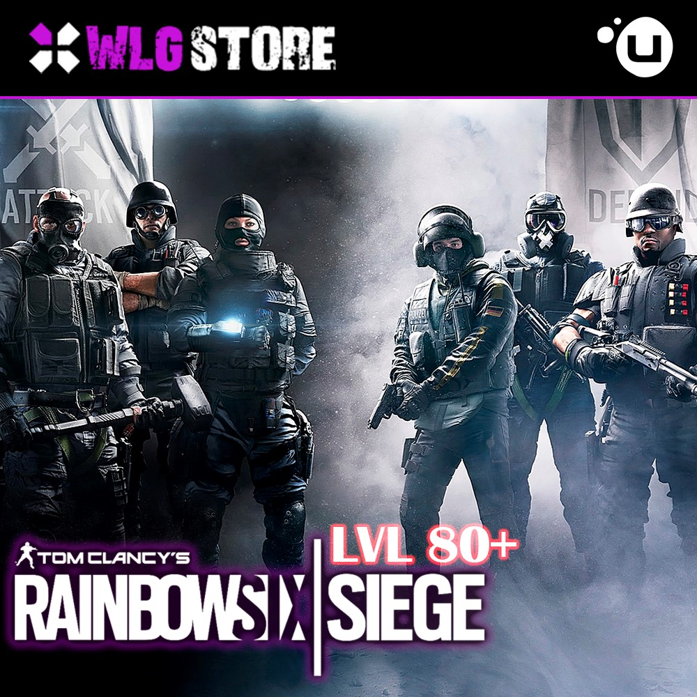 Tom Clancy's Rainbow Six Siege lvl 80+ | Uplay