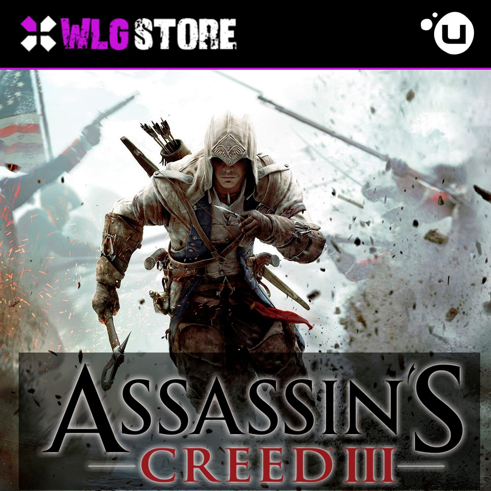 ASSASSIN'S CREED 3 | REGION FREE | UPLAY
