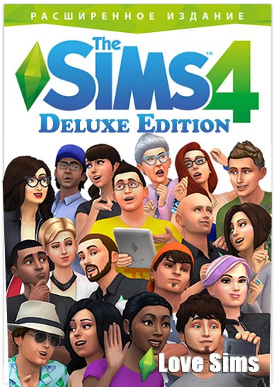 The Sims 4  DELUXE ГАРАНТИЯ + БОНУСЫ🔷
