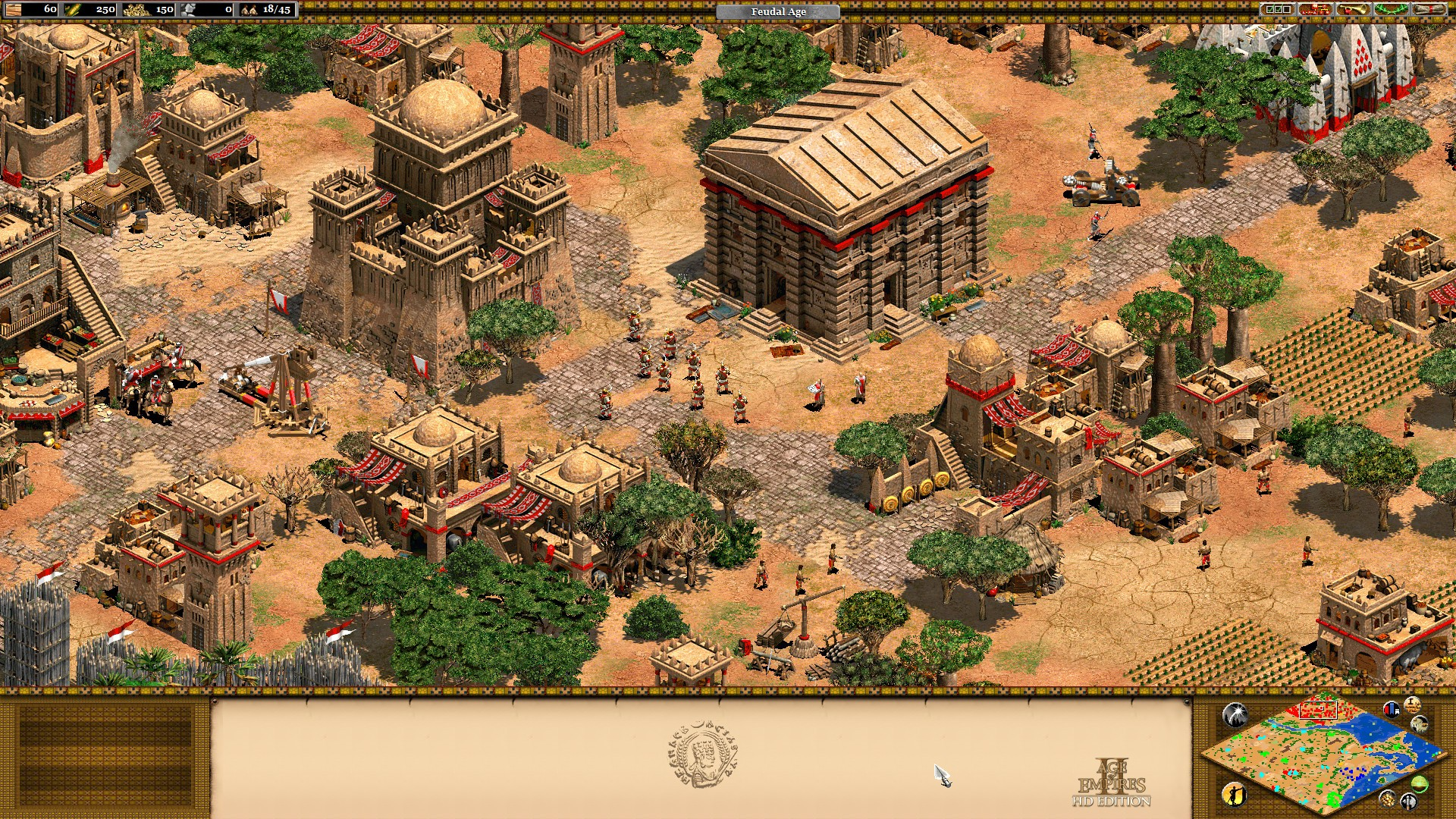 Age of Empires II HD + The African Kingdoms + Forgotten