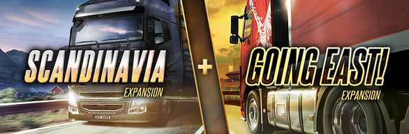 Euro Truck Simulator 2 East + Scandinavia Expansions