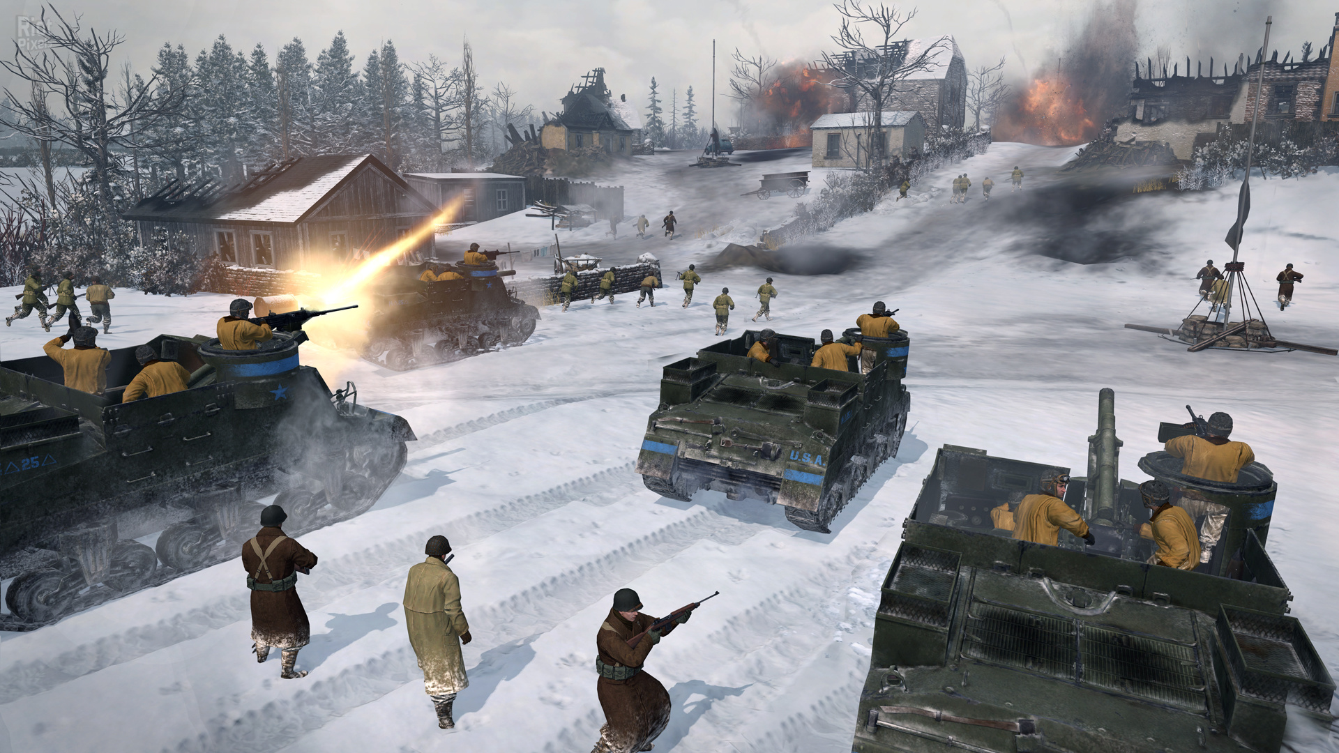 CoH 2 The Western Front Armies: US Forces (Global Key)