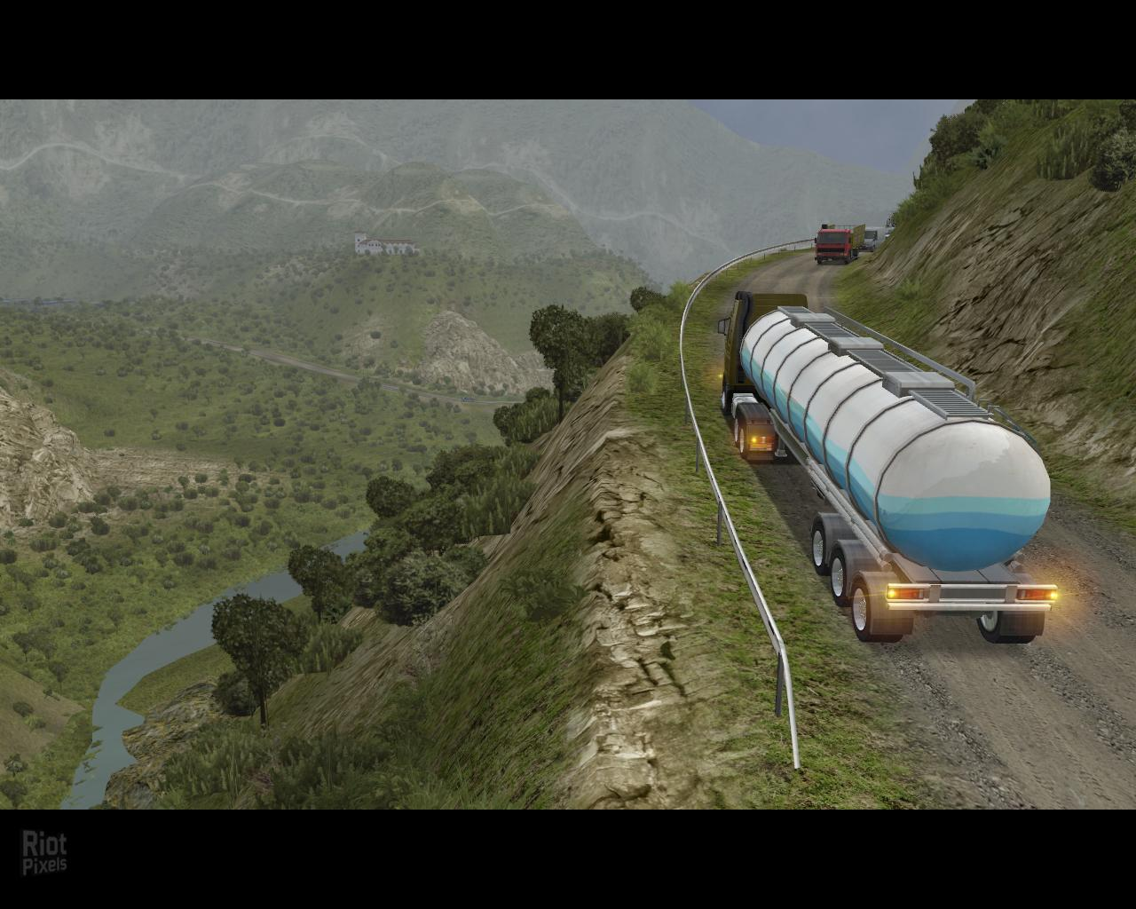 18 Wheels of Steel: Extreme Trucker KEY ROW Region Free