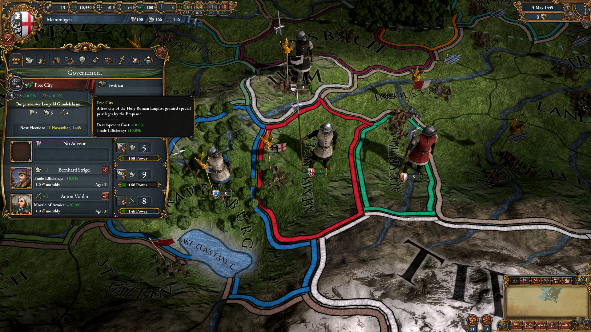 Europa Universalis IV: Common Sense Steam Gift / RU+CIS