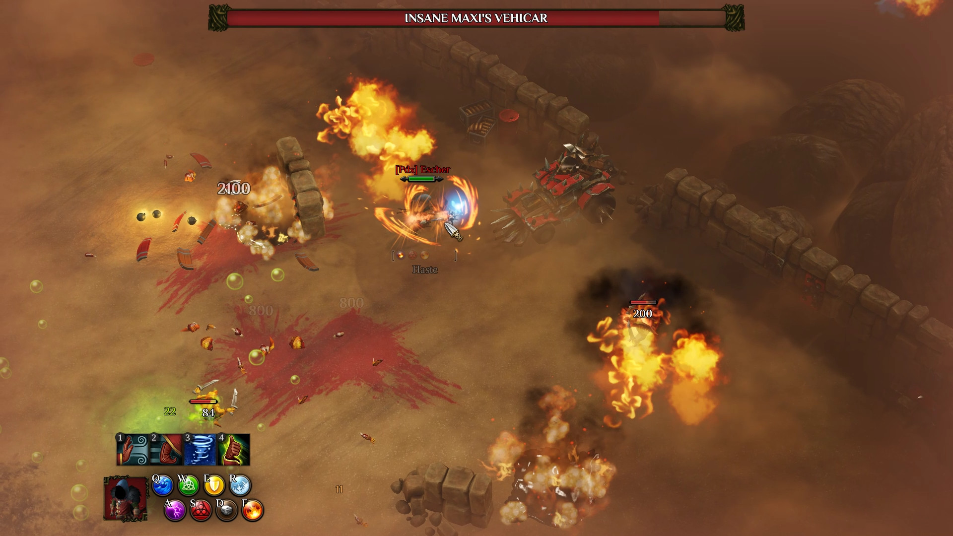 Magicka 2: Ice, Death and Fury (Steam Key / RU+CIS)