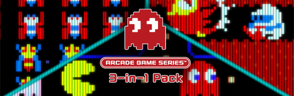 ARCADE GAME SERIES 3-in-1 Pack REGION FREE