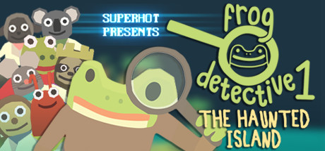 The Haunted Island, a Frog Detective Game Steam RoW