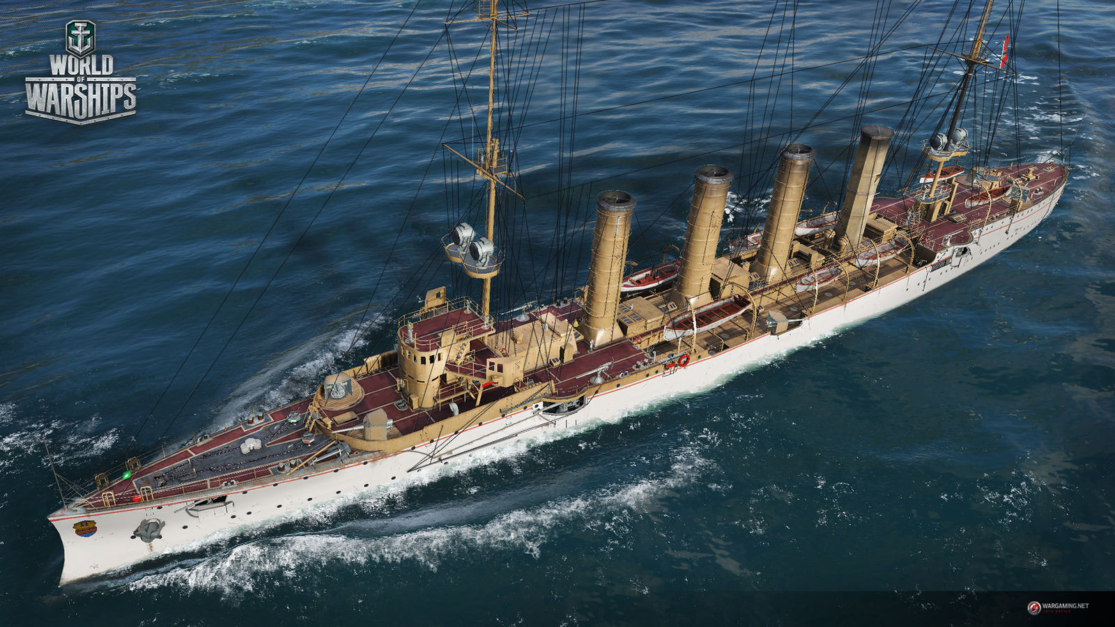 Coupon WoWs for cruiser Emden + 2.000.000 silver