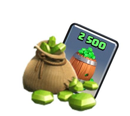 Promotional code for 2500 gems