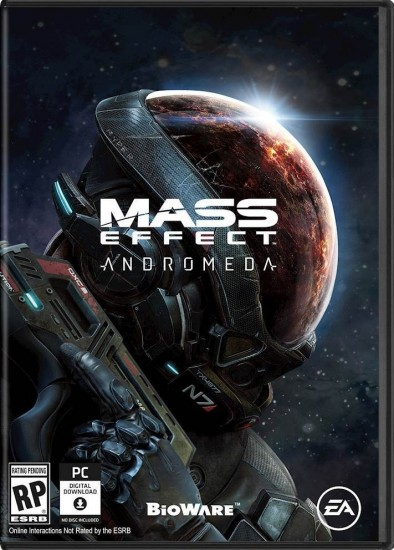 Mass Effect: Andromeda Deluxe WARRANTY BONUS ORIGIN