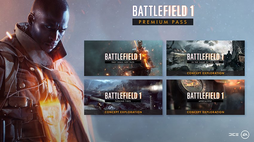 BATTLEFIELD 1 + PREMIUM PASS WARRANTY [ORIGIN]