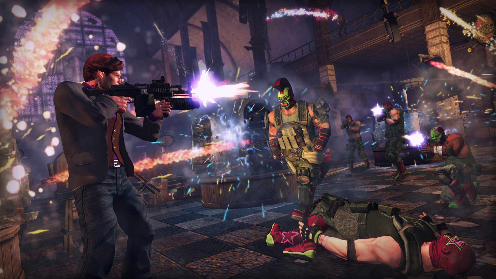 Saints Row: The Third - (Steam KEY) + ПОДАРОК