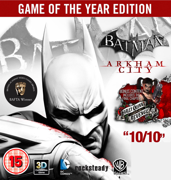 Batman: Arkham City Game of the Year Edition ✅