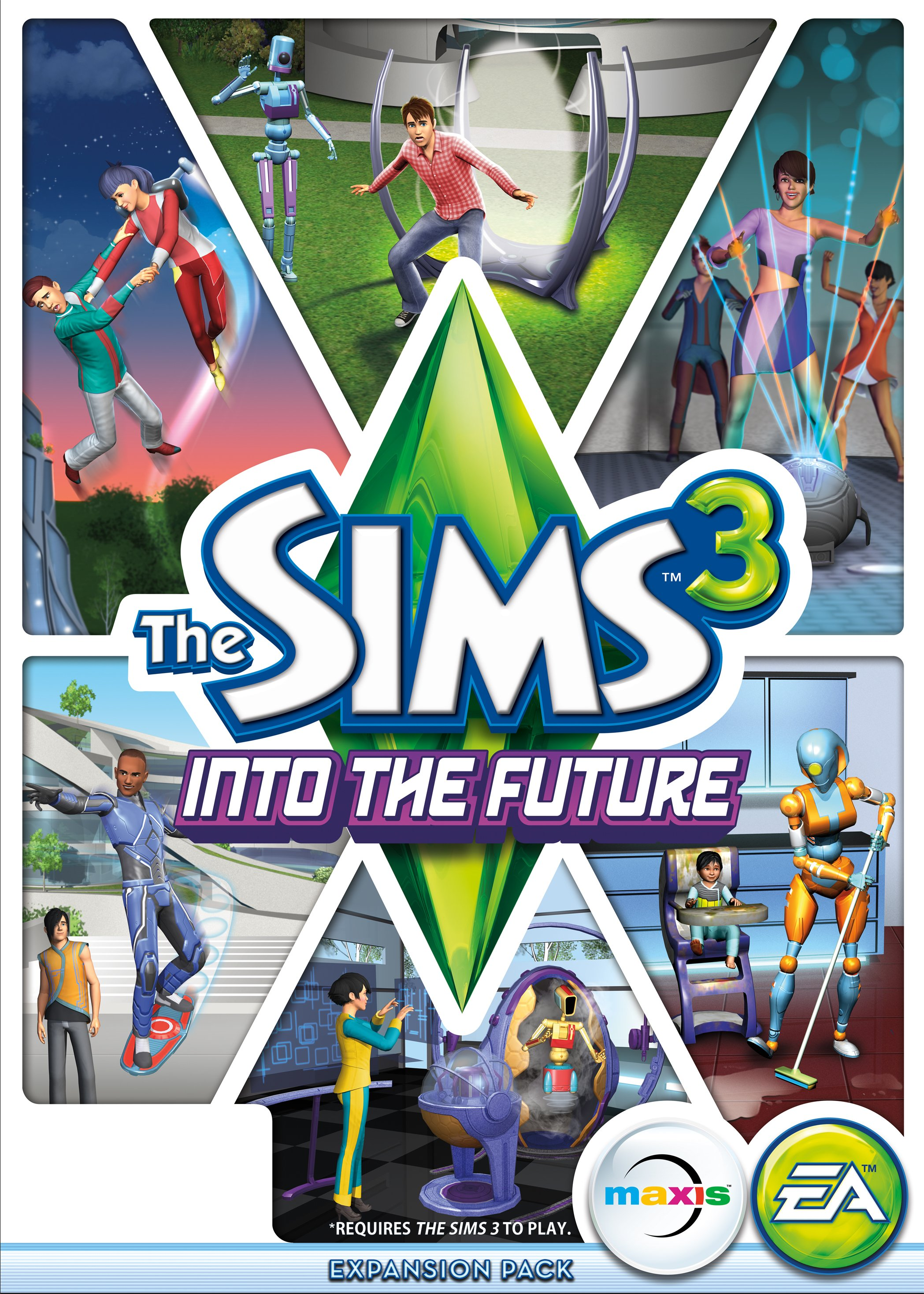 The Sims 3 Into the Future (Warranty + Bonus ✅)