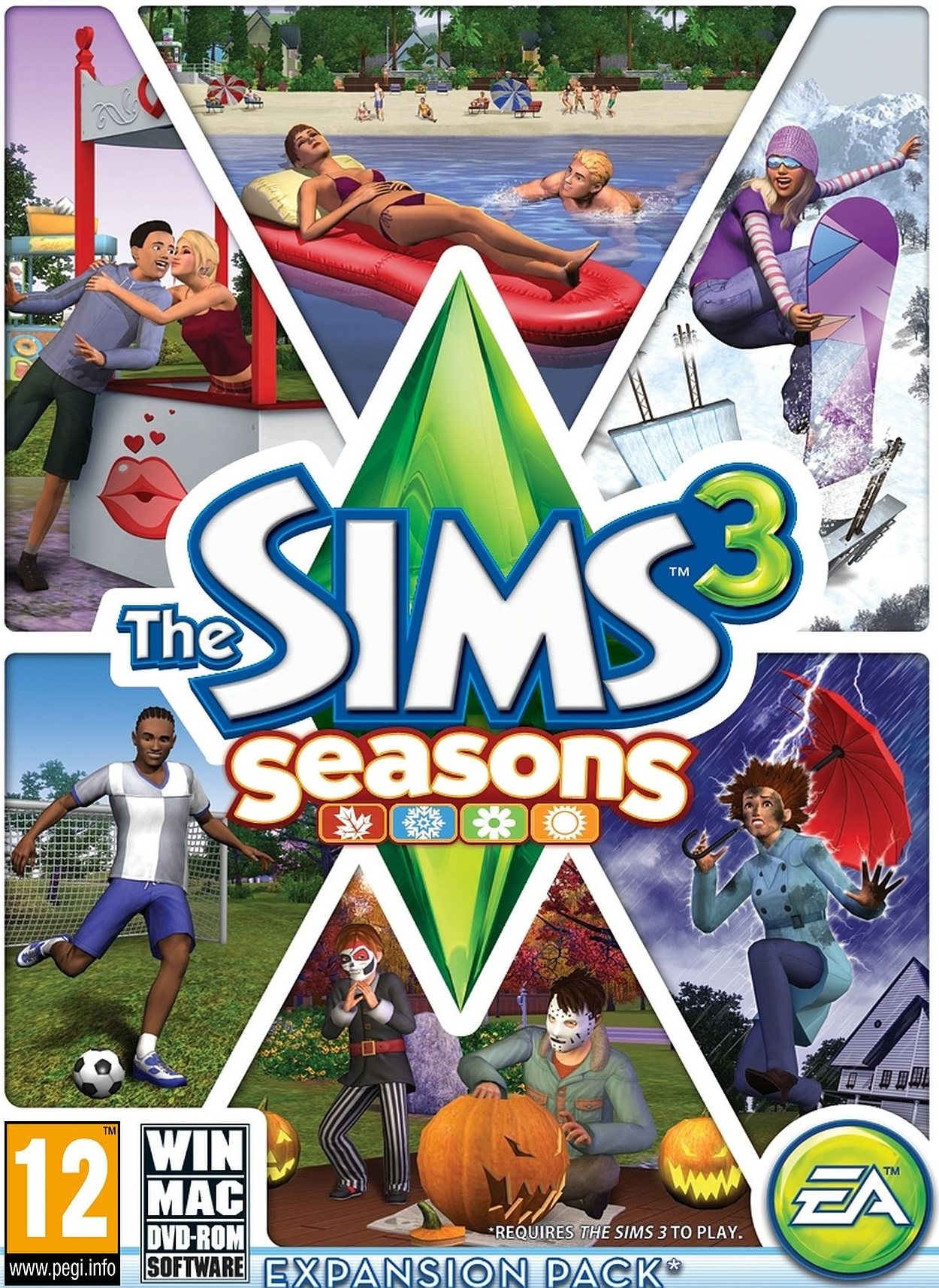 The Sims 3 Seasons (Warranty + Bonus ✅)