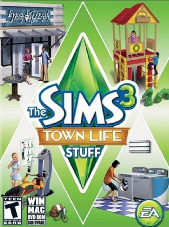 The Sims 3 Town Life Stuff (Гарантия + Бонус ✅)