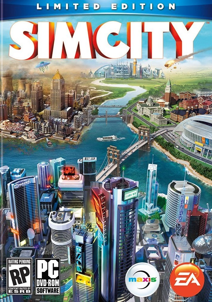 SimCity Limited Edition + SECRET answer(Warranty+Bonus)