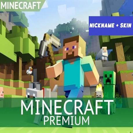 Minecraft PREMIUM    + СМЕНА НИКА, СКИНА    + Гарантия