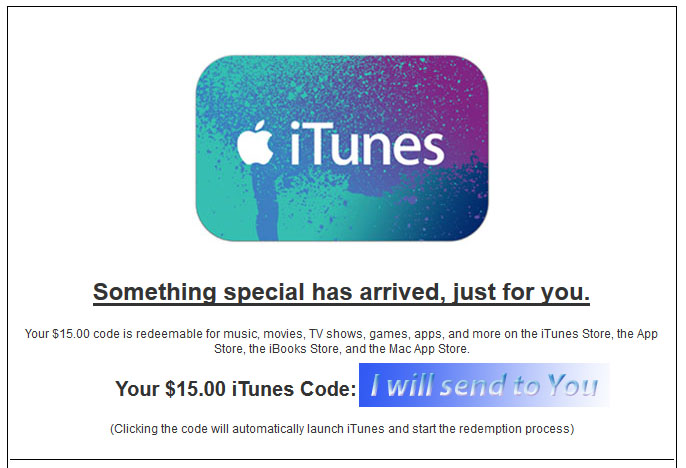 iTunes Gift Card $15 (USA-Email Delivery) + DISCOUNTS