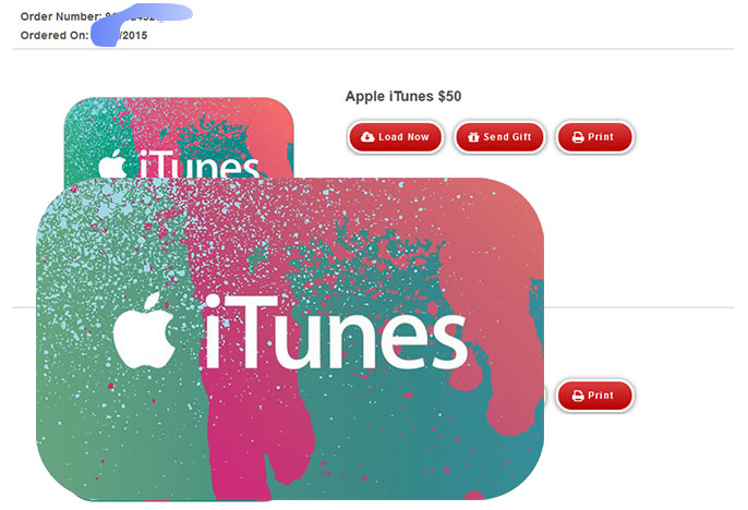 iTunes Gift Card $50 (USA-Email Delivery) + DISCOUNTS
