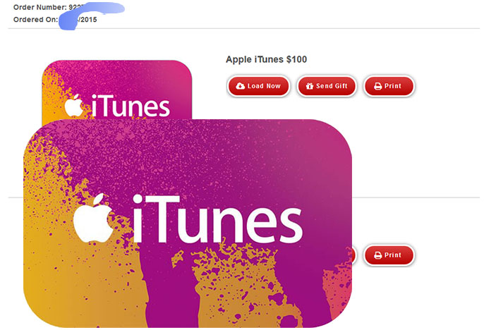 iTunes Gift Card $100 (USA-Email Delivery) + DISCOUNTS