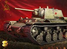 Купить Бонус-код - танк КВ-220-2 + 1500 золота + слот(ост 2шт)