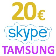 Skype OUT Voucher 20 EUR