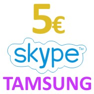 Skype OUT Ваучер 5 EUR