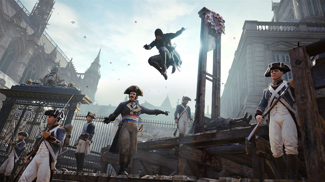 Assassin's Creed Unity XBOX ONE ALL Regions Digital KEY